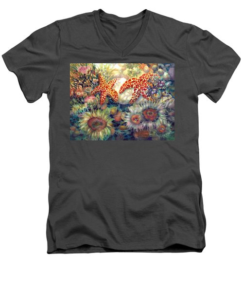 Tidal Pool II Men's V-Neck T-Shirt