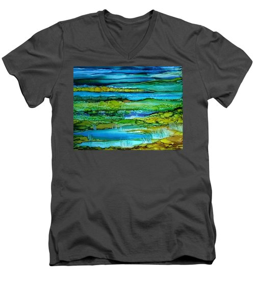 Tidal Pools Men's V-Neck T-Shirt