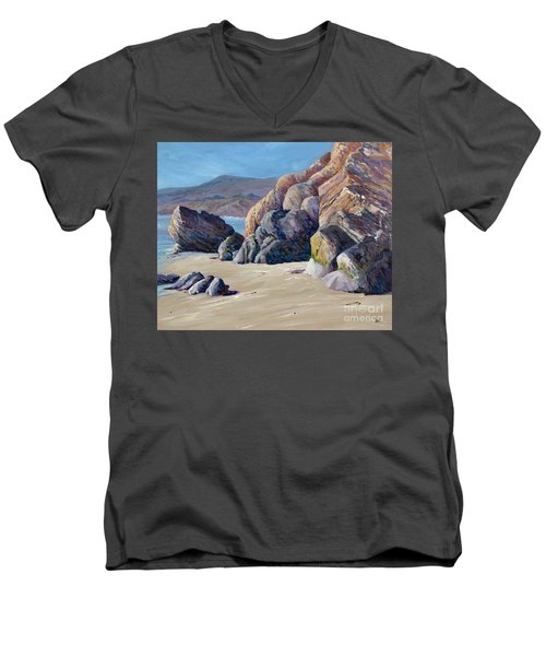 Tidal Shift Men's V-Neck T-Shirt