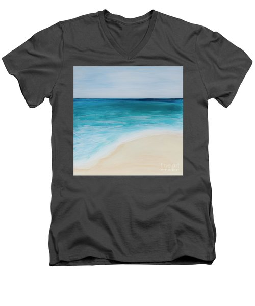 tide Coming In Men's V-Neck T-Shirt
