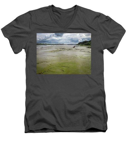 Tide Is Out  Men's V-Neck T-Shirt