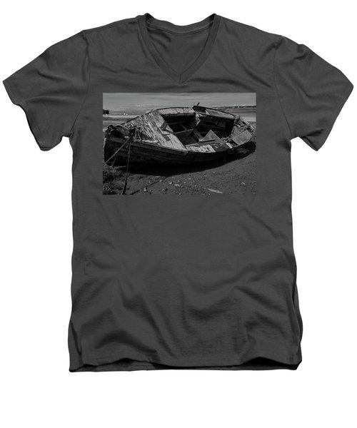 Tied Down Men's V-Neck T-Shirt