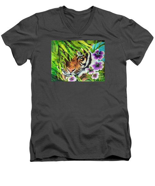 Tiger Lily Men's V-Neck T-Shirt