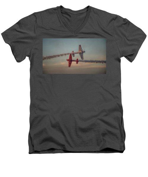 Tiger Yak 55 Men's V-Neck T-Shirt