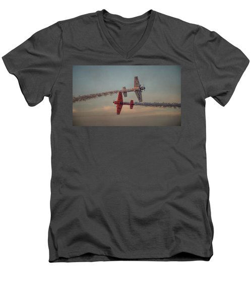Tiger Yak 55 Men's V-Neck T-Shirt