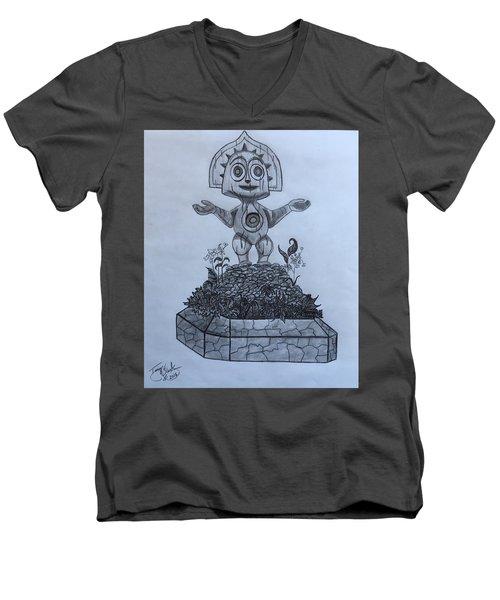 Tiki God Men's V-Neck T-Shirt