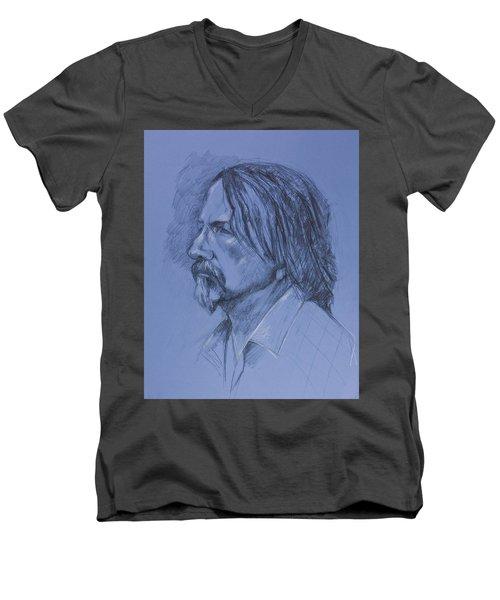Tim Men's V-Neck T-Shirt