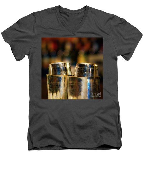 Time For A Cocktail Men's V-Neck T-Shirt