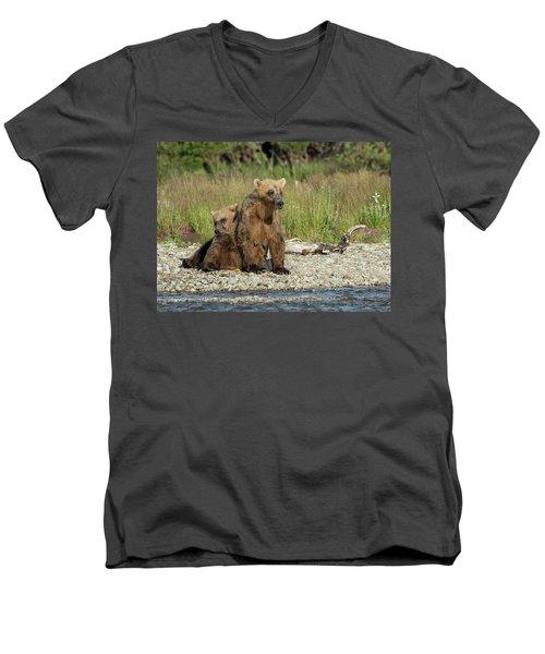 Time For A Nap Men's V-Neck T-Shirt