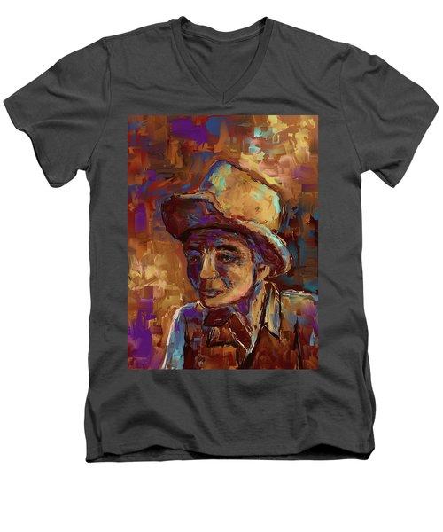 Time Lines Men's V-Neck T-Shirt