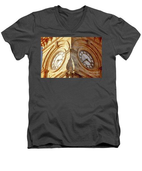 Time On My Side Men's V-Neck T-Shirt