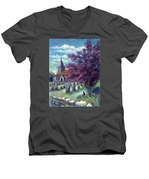 Time Our Companion Men's V-Neck T-Shirt