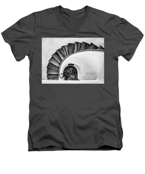 Time Passages Men's V-Neck T-Shirt