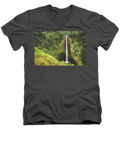 Time Stands Still Men's V-Neck T-Shirt
