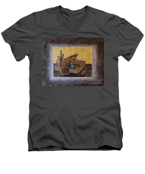 Time To Cook Men's V-Neck T-Shirt