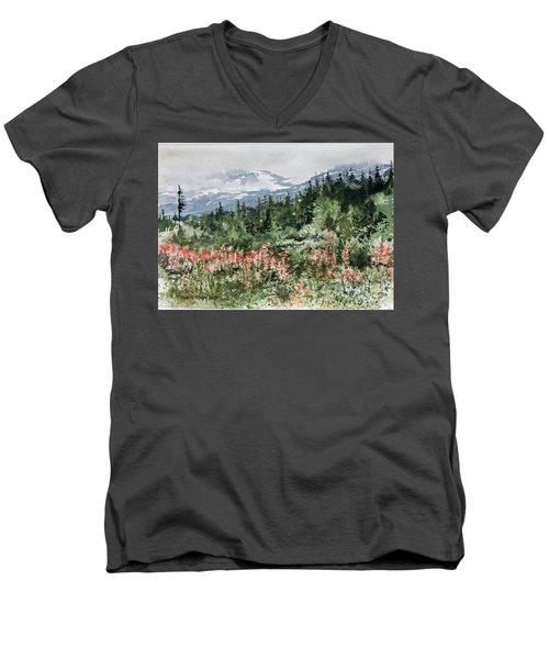 Time To Go Home Men's V-Neck T-Shirt