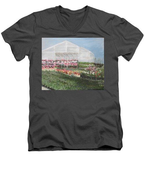 Time To Plant Men's V-Neck T-Shirt
