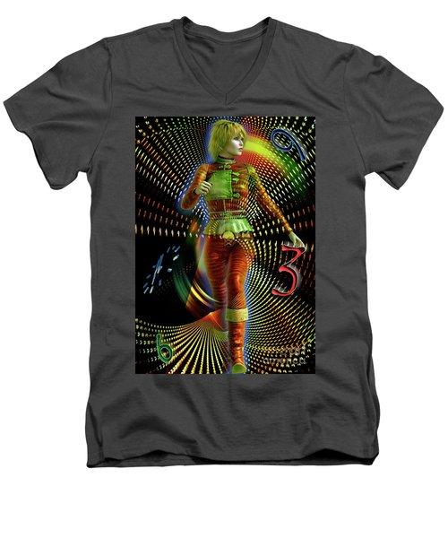 Time Zone Men's V-Neck T-Shirt