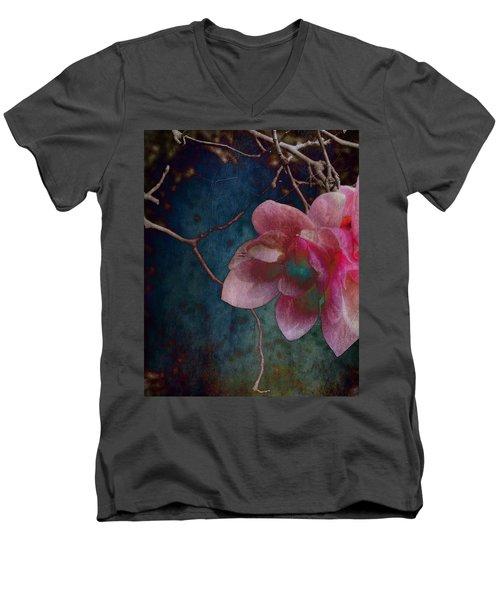 Timeless - Magnolia Blossoms  Men's V-Neck T-Shirt