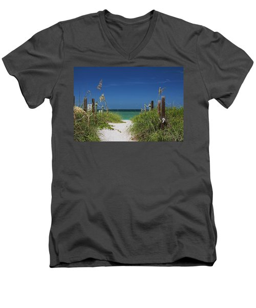 Men's V-Neck T-Shirt featuring the photograph Timeless Scandal by Michiale Schneider