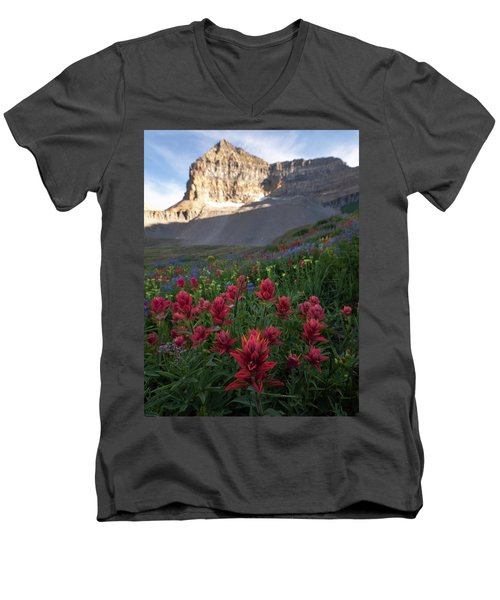 Timpanogos Paintbrush Men's V-Neck T-Shirt