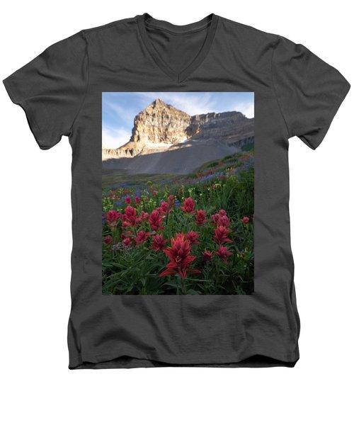 Timpanogos Paintbrush Men's V-Neck T-Shirt