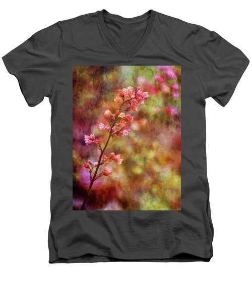Tiny Gems 1345 Idp_2 Men's V-Neck T-Shirt