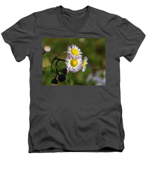 Tiny Little Weed -2- Men's V-Neck T-Shirt