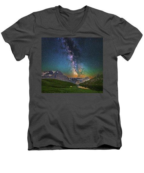 Tiny Men's V-Neck T-Shirt