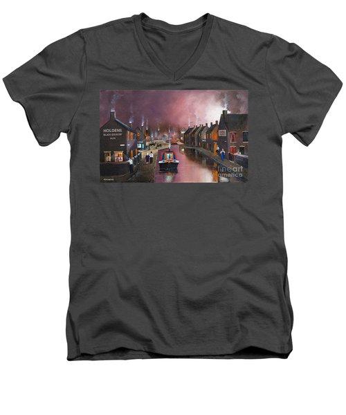 Tipton Green Branch Men's V-Neck T-Shirt