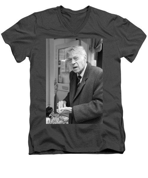 Tired Of Change Men's V-Neck T-Shirt