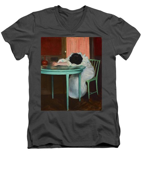 Tired Men's V-Neck T-Shirt