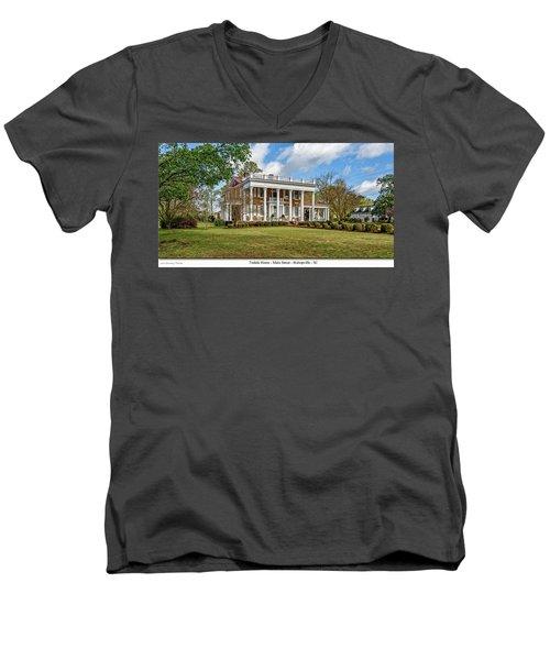Tisdale Manor2 Men's V-Neck T-Shirt