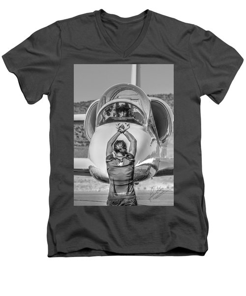 Darkstar II Taxis In Signature Edition Men's V-Neck T-Shirt