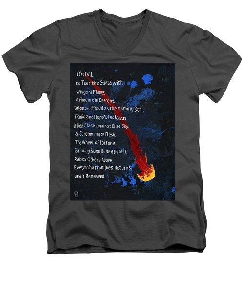 To Fall Men's V-Neck T-Shirt