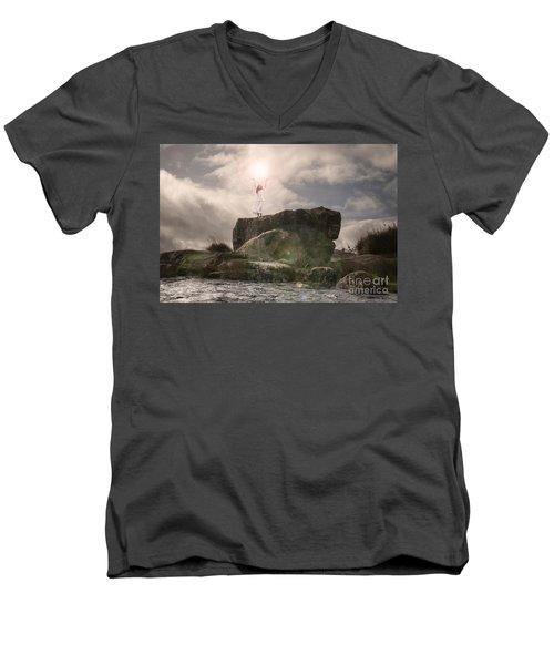 To Hold The Light Men's V-Neck T-Shirt
