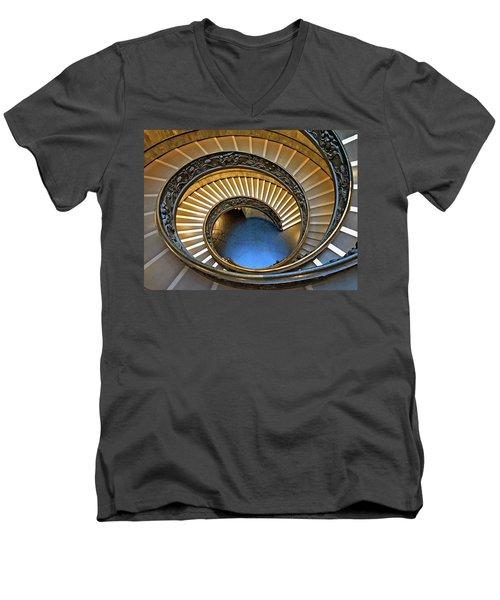 To Infinity Men's V-Neck T-Shirt