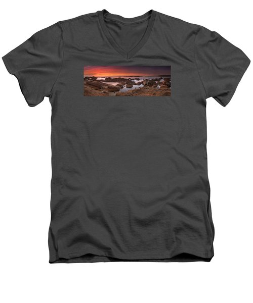 To Sea's Unknown Men's V-Neck T-Shirt