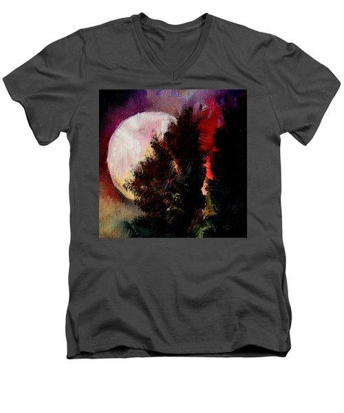 To The Moon And Back Men's V-Neck T-Shirt