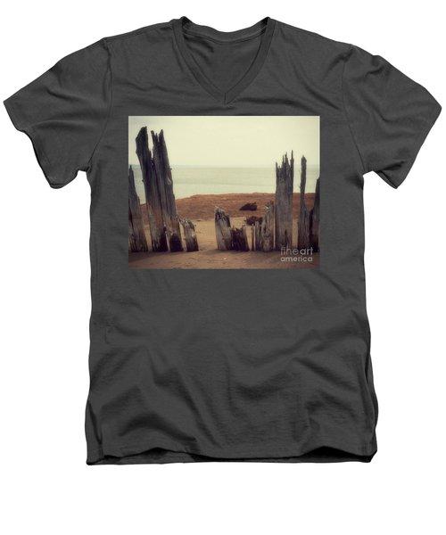 To The Sea Men's V-Neck T-Shirt