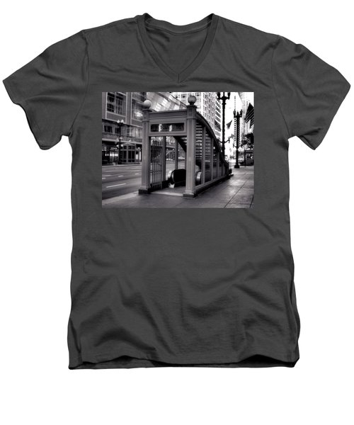 To The Subway - 2 Men's V-Neck T-Shirt