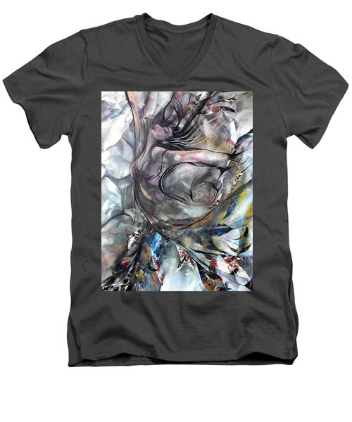 To The Tree Men's V-Neck T-Shirt