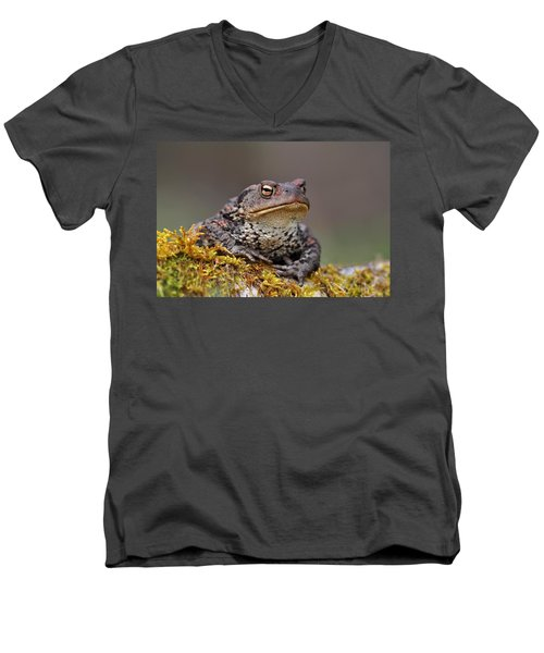 Toad Men's V-Neck T-Shirt
