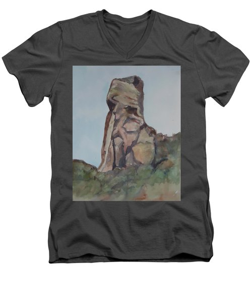 Toad Rock Men's V-Neck T-Shirt