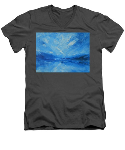 Today I Soar Men's V-Neck T-Shirt by Jane See