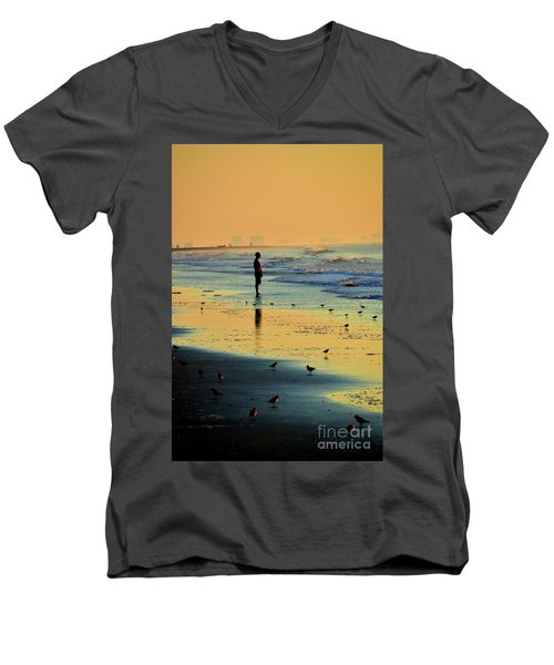 Today's The Day When Anything Is Possible Men's V-Neck T-Shirt