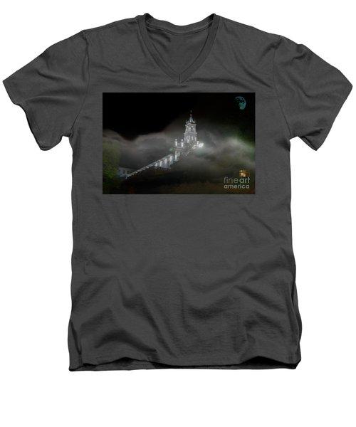 Todos Santos In The Fog Men's V-Neck T-Shirt