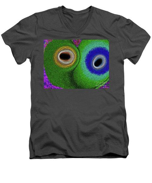 Togetherness Men's V-Neck T-Shirt by Lyric Lucas