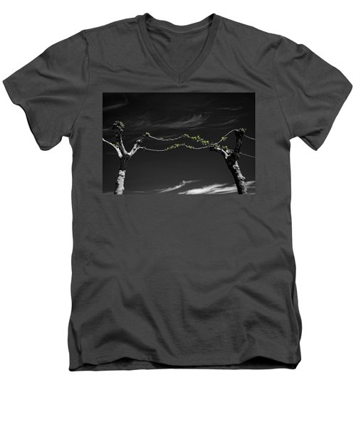 Togetherness Men's V-Neck T-Shirt