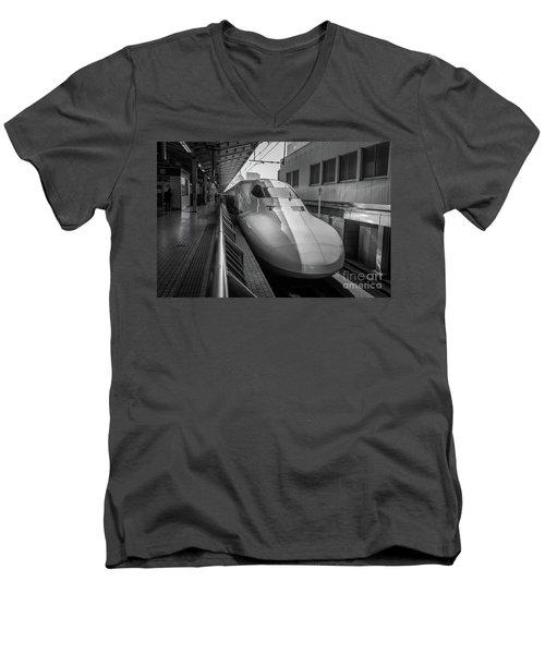 Tokyo To Kyoto Bullet Train, Japan 3 Men's V-Neck T-Shirt